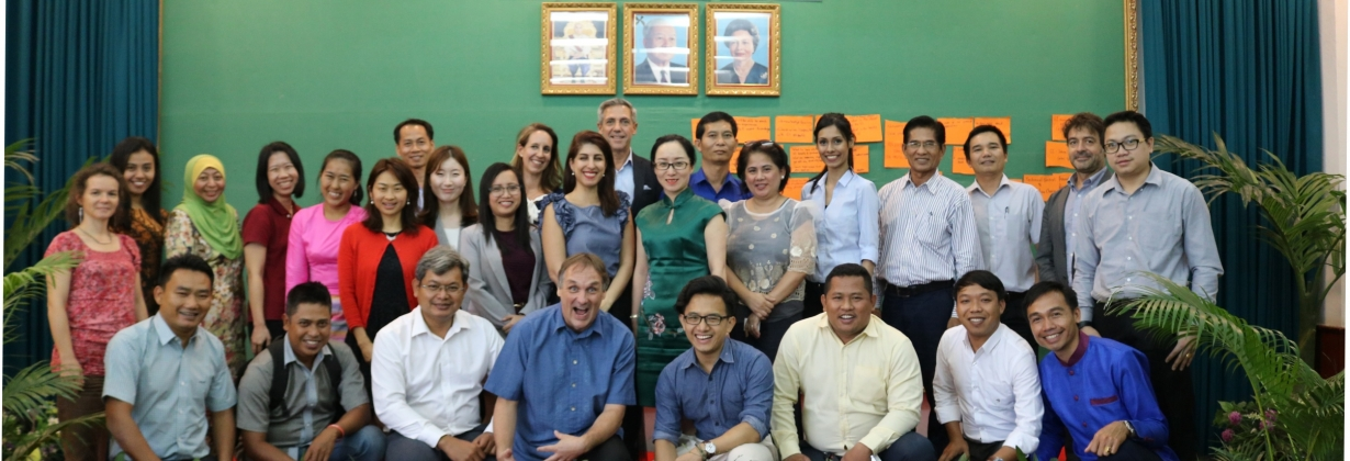 Asia GI training in Kampot, Cambodia in 2018