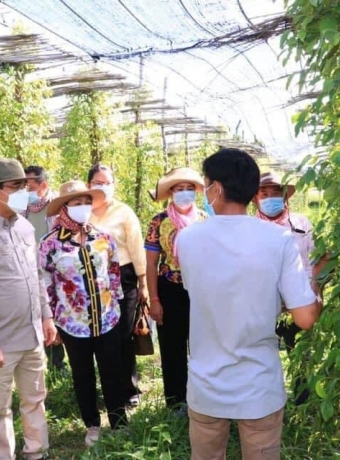 Visit of H.E. Minister of Agriculture, Forestry and Fisheries (MAFF) in Aries Farm, member of KPPA