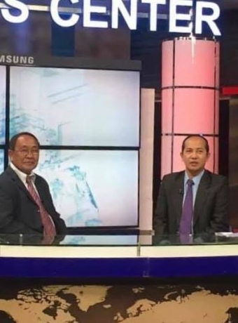 Interview of CTN TV with President of KPPA about the situation of Kampot pepper and KPPA